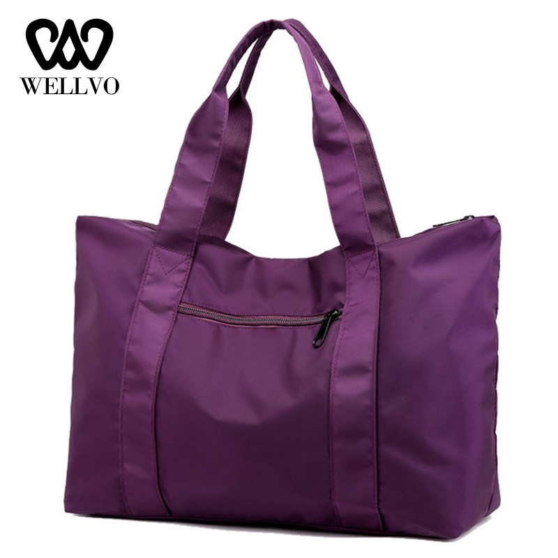 Fashion Travel Bag Large Hand Luggage Casual Carry On Weekend Bag Multifunction Ladies Duffle Bags For Women Sac A Main XA746WB