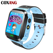 COXANG Q528 Smart Watch For Children Kids Baby Phone SOS LBS locatior Sim Dail Call Touch Screen Alarm Clock Smartwatches