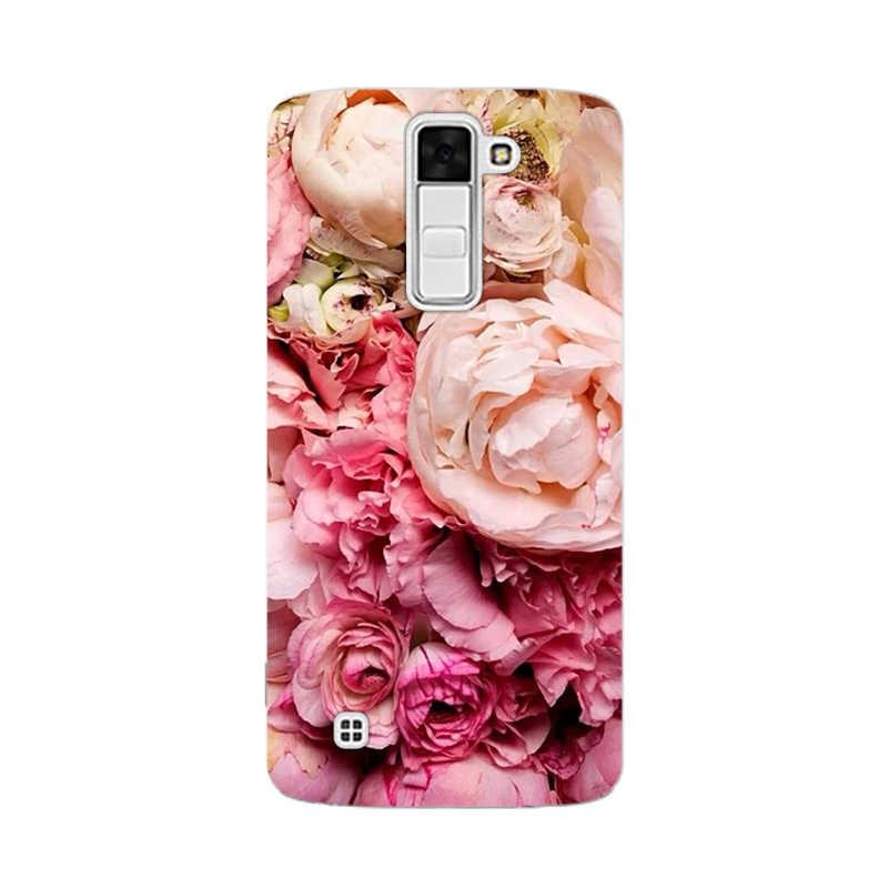 CROWNPRO עבור LG K10 מקרה כיסוי עבור LG K10 2016 K420N K430 טלפון Fundas רך עבור LG K 10 K10 LTE K430ds סיליקון חזרה TPU מקרי