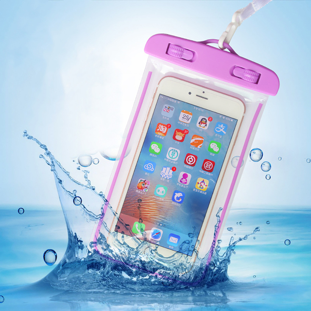 Waterproof Bag Cover Smartphone Holder