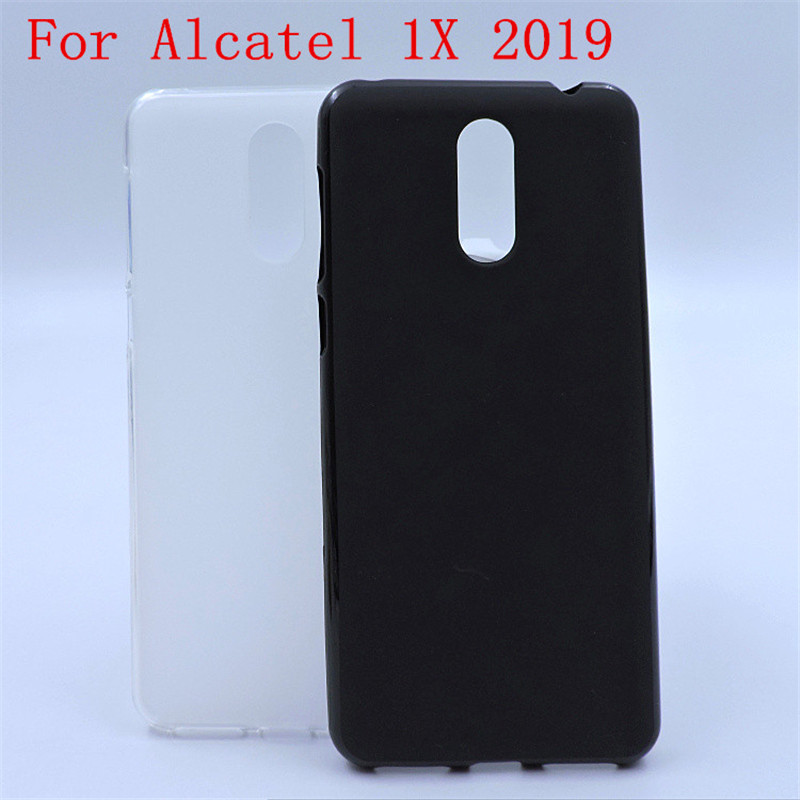 Luxury Soft Silicone Phone Case Cover For <font><b>Alcatel</b></font> 1X 2019 <font><b>5008Y</b></font> 5.5