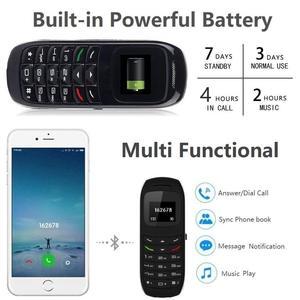 Image 3 - L8Star BM70 Mini Phone Bluetooth Mobile Phones Universal Wireless Headphone Cell Phone Dialer GTSTAR BM50 Super Small GSM Phone