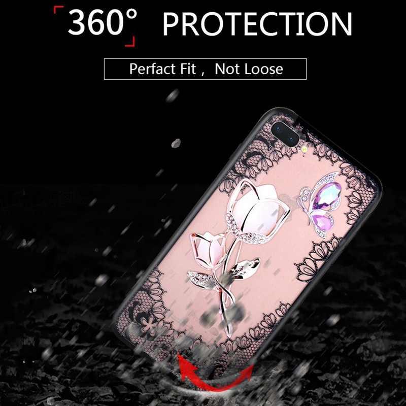 UPaitou 3D рельефный кружевной Цветочный чехол для телефона huawei Honor 10 9 8 7X7 S 6X Цветной корпус чехол для huawei Honor 10 Mate9 Lite
