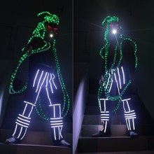 The LED luminous costume bar party decoration props Stage show
