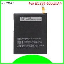 Isunoo 4000 мАч BL234 BL 234 BL-234 Батарея для lenovo A5000 Vibe P1m p1ma40 P70 P70t P70-T мобильного телефона Батарея