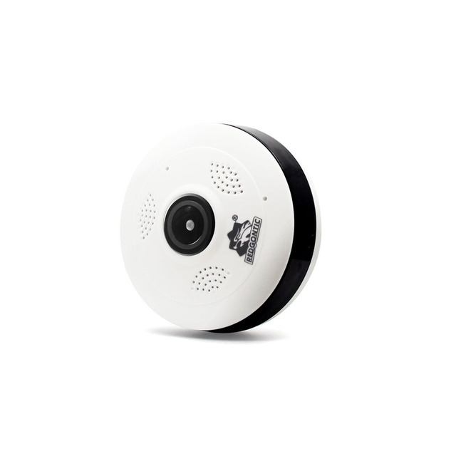 Fisheye 1080 2mp Surveillance V380 P Sans Fil Détection Vr Mini De Caméra Wifi Vidéosurveillance 360 Kamera Intérieure Ip POiXukZ