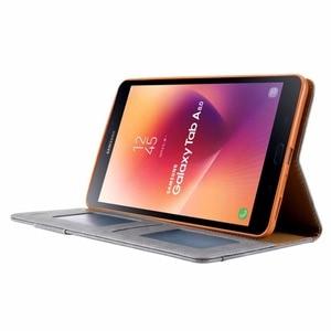 Image 3 - T380 สำหรับSamsung Galaxy Tab A 8.0 2017 T385 SM T380 SM T385 คุณภาพสูงPUหนัง + TPUกลับฝาครอบfunda