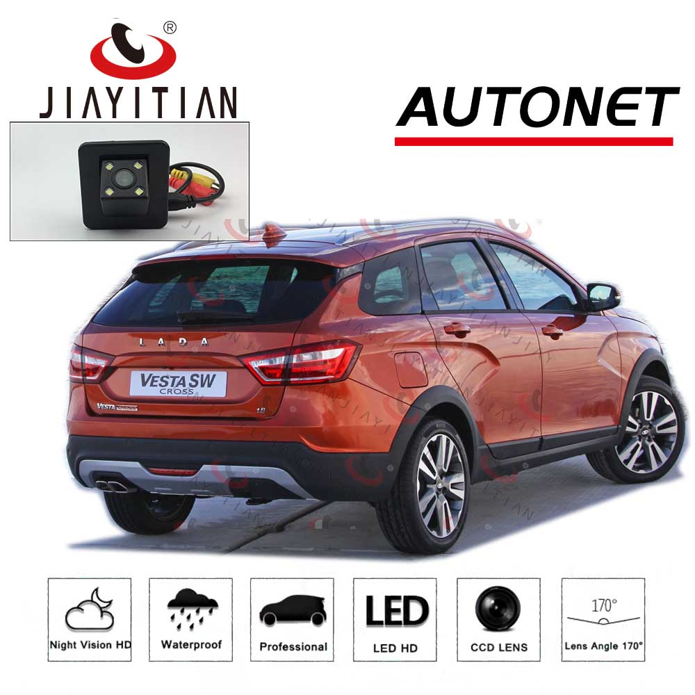 JiaYiTian Rear View Camera For Lada VESTA SW/SW CROSS Lada Vesta SW Sport CCD Night Vision Backup Parking Camera Reserved Camera