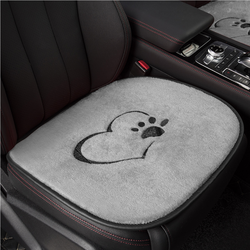 Universal car <font><b>seat</b></font> <font><b>cover</b></font> warm plush car <font><b>seat</b></font> cushion car pad for <font><b>Peugeot</b></font> <font><b>206</b></font> 207 2008 301 307 3008 408 4008 508 image
