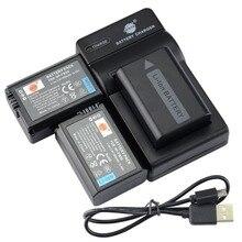 DSTE 3 шт. NP-FW50 Батарея + UDC107 USB Зарядное устройство для Sony NEX-7 NEX-5N NEX-F3 NEX-5R NEX-6 NEX-3 NEX-3A NEX-3D
