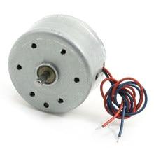 f30214f411f WSFS caliente 2 unids rc300 6000 rpm DC 1.5-9 V micro Motores para cd dvd