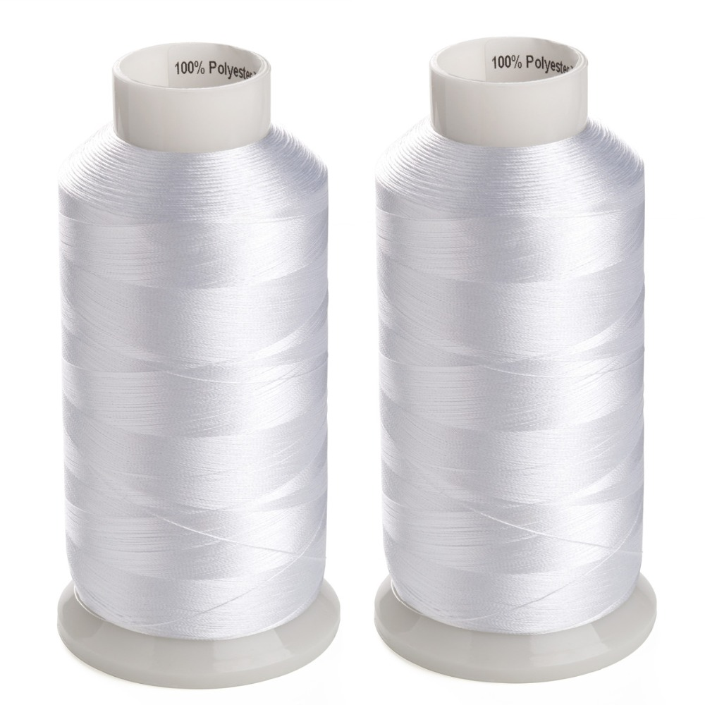 Threadart Polyester Machine Embroidery Thread By the Spool Flag Navy 220 Colors Available 1000M 436 No