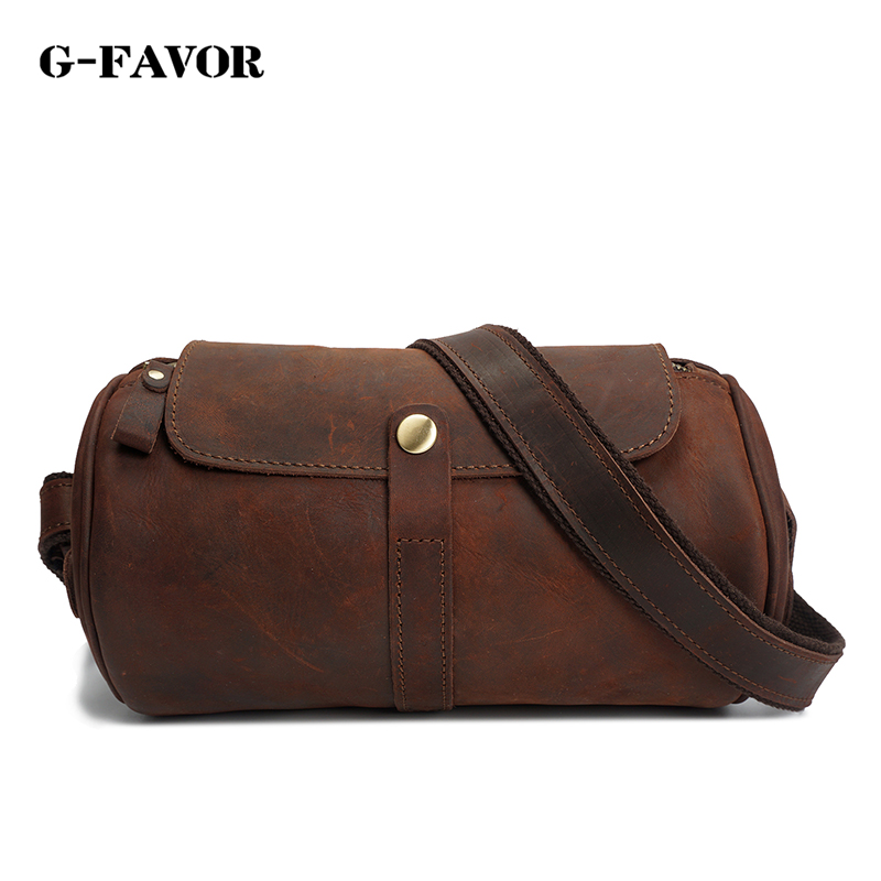 vintage messenger bag men leather bucket shoulder bags Cowboy Design Pillow Bags men horizontal casual Travel Crossbody bags велосипед merida cyclo cross 400 2018