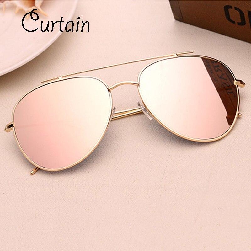 Fashion Aviator Sunglasses Women Men Brand Designer Male Sun Glasses For Women Lady Sunglass Female Mirror Glasses Oculos De Sol