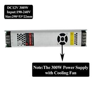 Image 3 - Ultra mince LED transformateurs alimentation DC 12 V bandes 100 W 150 W 200 W 300 W AC190 240V pilote pour ampoules néons à LED