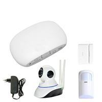 Super Mini WIFI Home Security Alarm System DIY Kit IOS Android Smart Phone App PIR Main