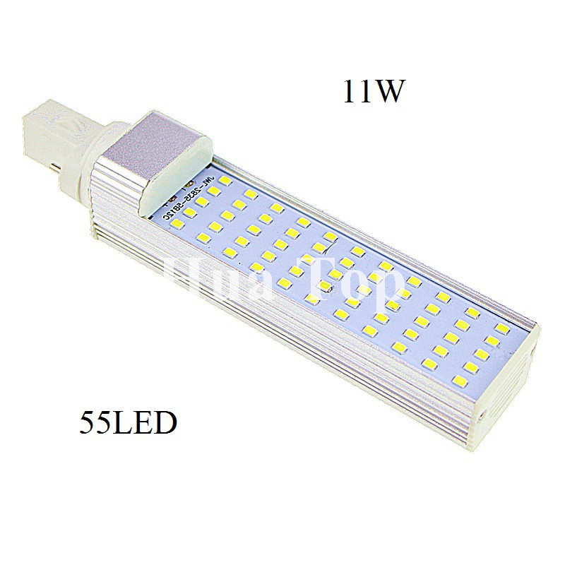 G24 E27 G23 LED Horizontal Plug Light 5W 7W 9W 11W 13W SMD2835 AC85-265V Spotlight Bulb Lamp Light For Indoor Outdoor Lighting led light bulb r50 r63 r80 e14 e27 b22 5w 7w 9w 5730smd reflector light lamp bulb pure warm natural white lighting ac85 265v