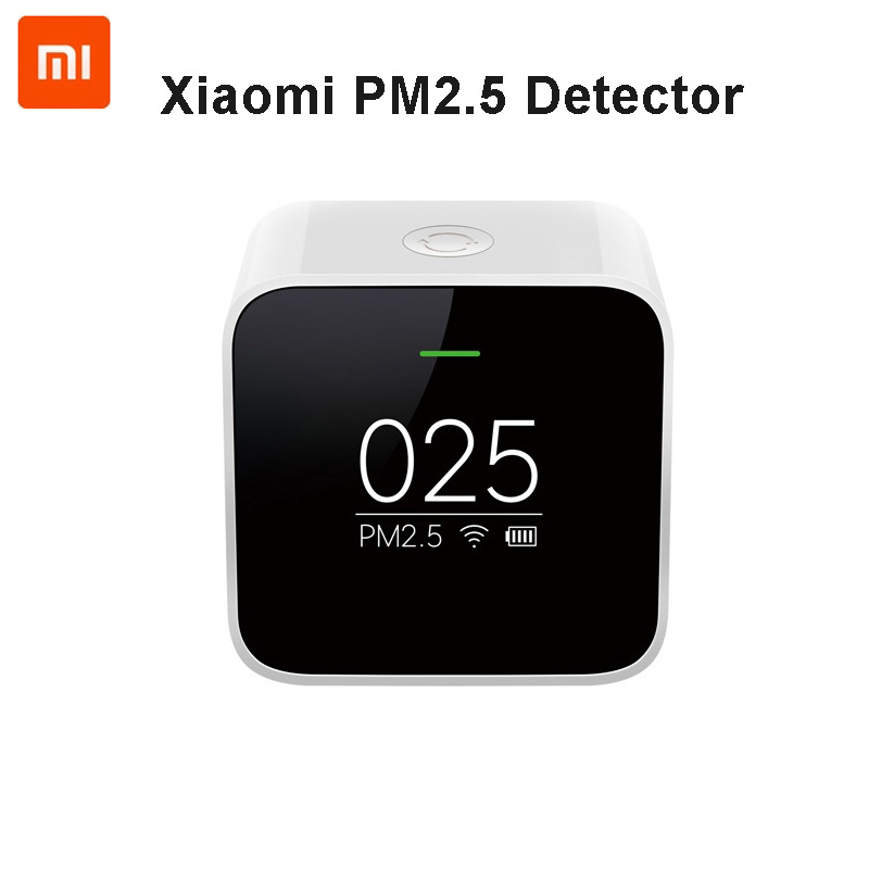 Original Xiaomi Mi PM2 5 Air Detector Know Your Air Anytime Anywhere Helps Track Real Time