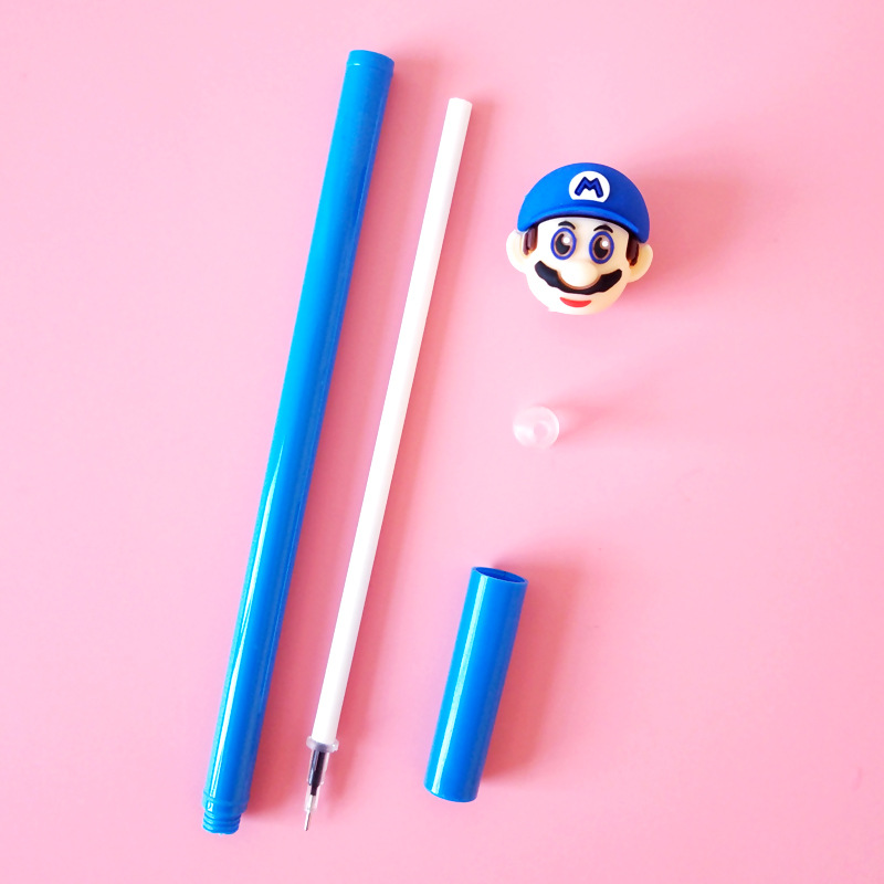 36 pcs lote super marie mario caneta gel 04