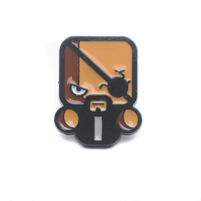 K199 Karakter Kartun Pin Logam Enamel Pin dan Bros untuk Wanita Pria Lapel Pin Ransel Lencana Denim Kerah Perhiasan