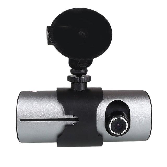 Новый 2.7 ''1080 P Full HD Авто Видеорегистратор Видеокамера Даш Cam Мини Микро Камеры с Двумя Объективами GPS
