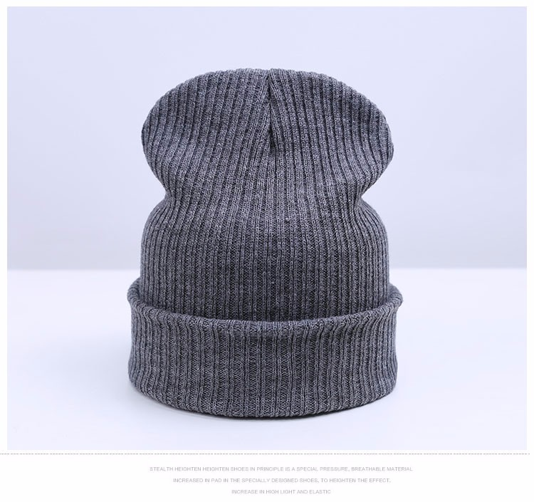 a652ef8ea Fashion Winter Hat Beanies Knitted Cap Skullies Beanies For Men ...