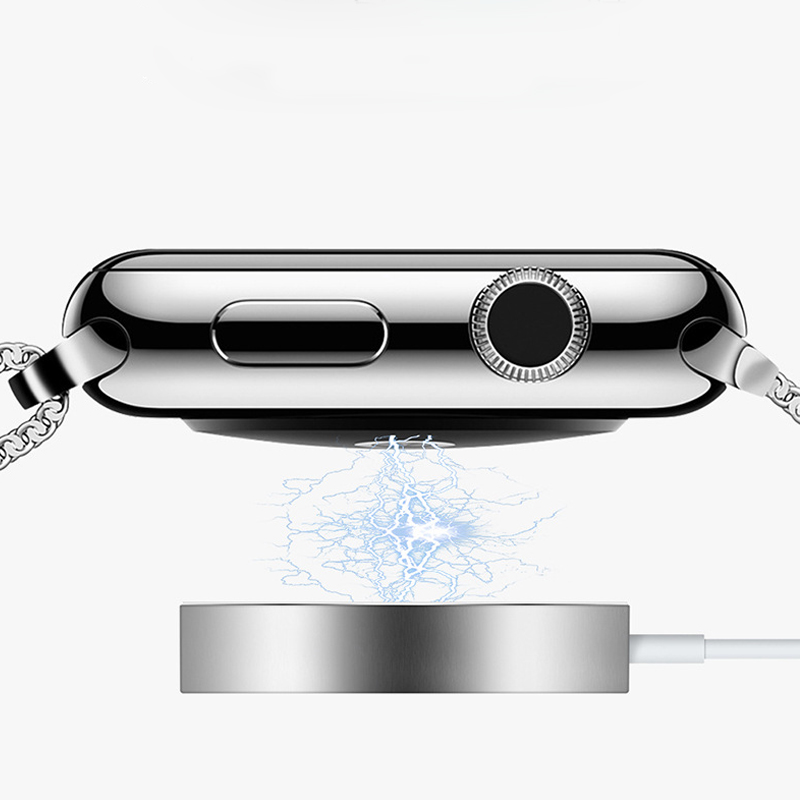 For Apple watch band 4 44mm 40mm correa Magnetic Wireless Charging Cable Wholesale Iwatch Series 4 3 2 1 42mm 38mm Dropshipping magnetic charging for apple watch 4 3 2 1 iwatch 42mm 38mm 1 0ft 0 3m usb certified charger chargingcable 1m