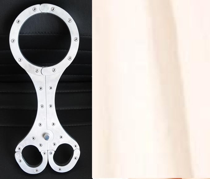 Stainless steel fixed adult erotic flail foot BDSM Bondage Restraints Sex Toys for Couple Bondage restraints