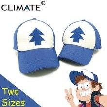CLIMATE 2017 New Spring Summer Gravity Falls U.S Cartoon Mabel Dipper Pines Cosplay Cool Baseball Mesh Caps Adjustable Sport Hat