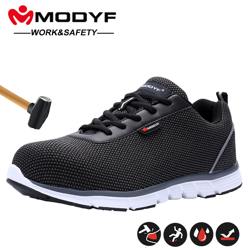Werkschoenen Te Koop.Beste Kopen Modyf Mannen Stalen Neus Veiligheid Schoenen Voor
