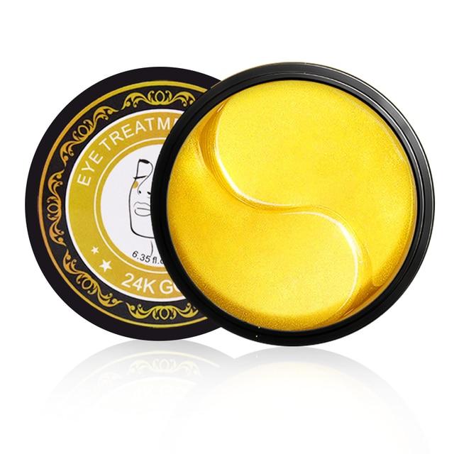 60pcs Collagen Eye Mask Under Eye Patches Gel 24K Gold Hydrogel Crystal Sleep Mask Sheet Pads Dark Circles Ageless Skin Care 4