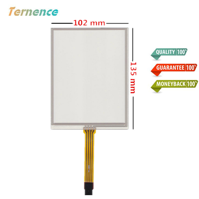 New 5.7 Inch 4 Wire Touch Panel 135mm*102mm Resistive Touch Screen Digitizer AMT9105 For Industrial Equipment Free Shipping