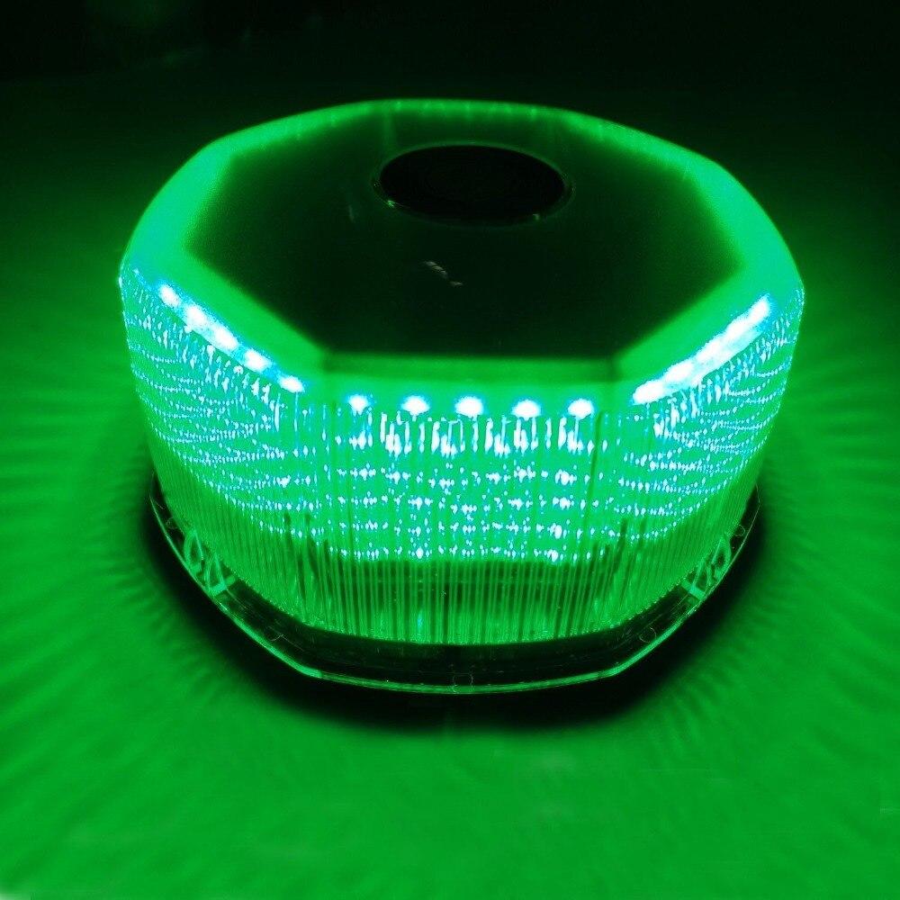 CYAN SOIL BAY 240 LED Car Truck Strobe Light Lamp Emergency Light Hazard Warning light Green cyan soil bay 1pc car interior light