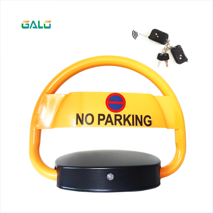 Outdoor parking lock remote control is automatically turned on Place VIP car parking spaces barrier boom LOCK great spaces home extensions лучшие пристройки к дому