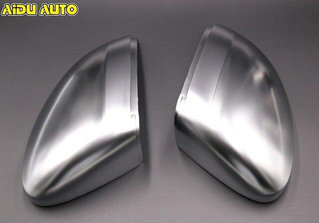 Matt Mirror Cover Rear view Side Mirror Cap Housing USE For VW Golf 7 MK7 VII PASSAT B8