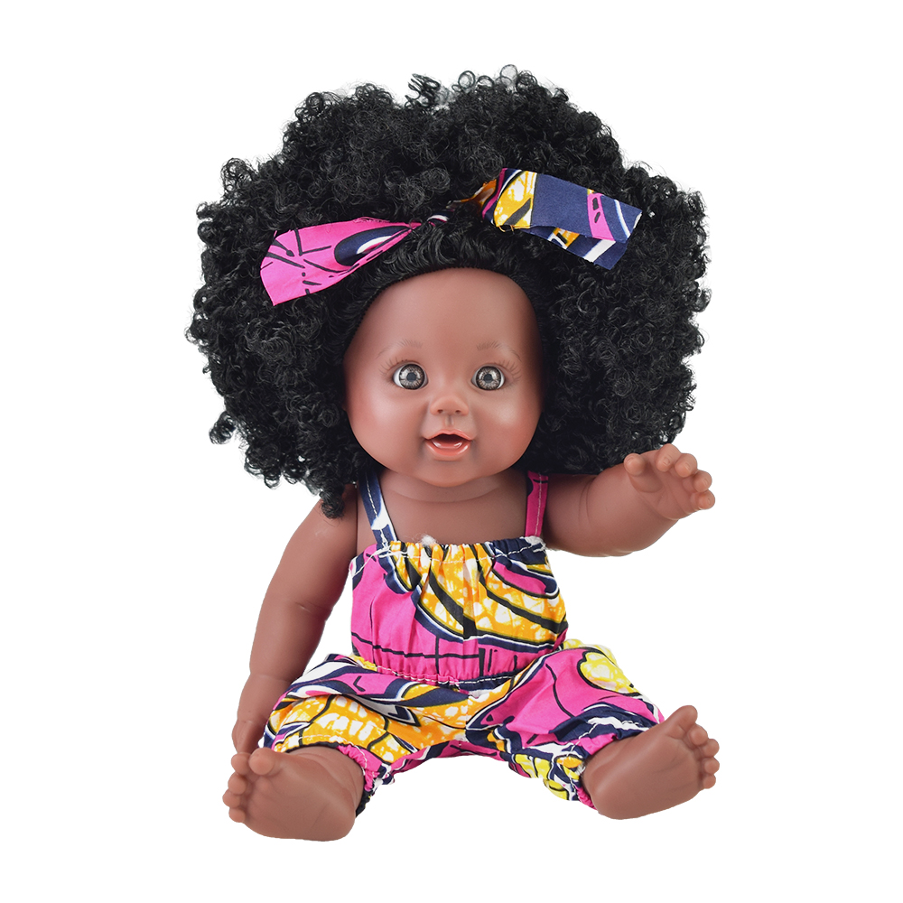 bath toy! 12inch black baby dolls lol reborn silicone vinyl 30cm newborn poupee boneca baby soft toy girl kid Nathniel todder