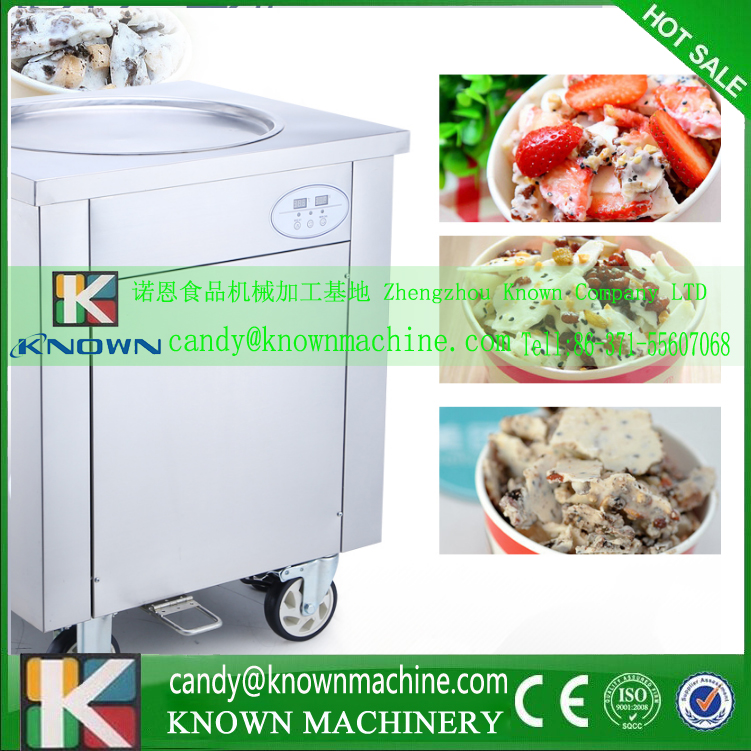 factory supply fried ice cream machine (free ship by sea by dhl) 110v and 220V