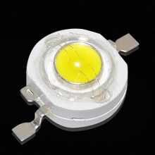 Bulat Nyata Penuh Watt 1W 3W High Power LED Lampu Bohlam Dioda SMD 110-120LM LED Chip untuk 3 w-18 W Lampu Downlight(China)
