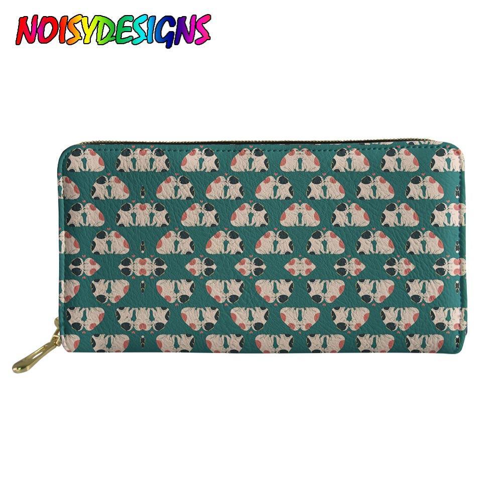 Making Donuts Wallets for Women Card Holder Zipper Purse Phone Clutch Wallet