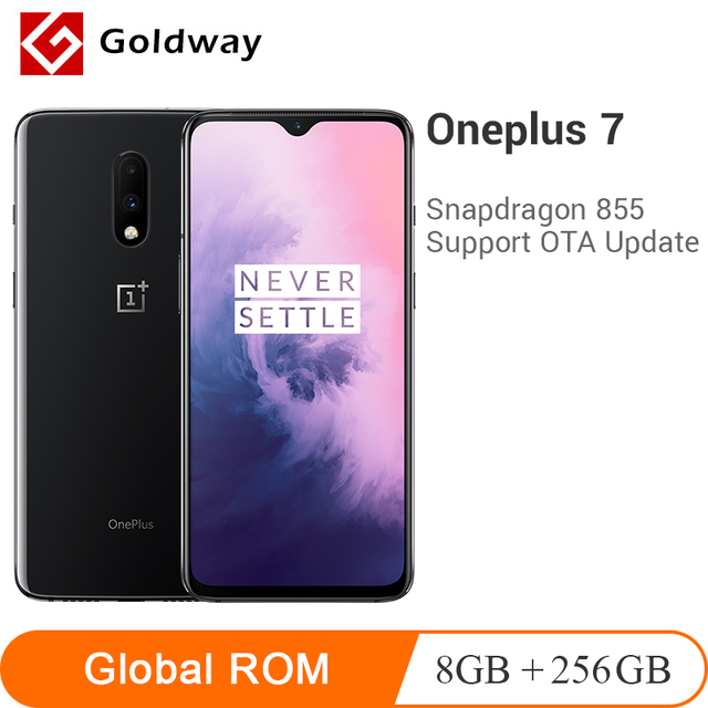 "Global ROM Oneplus 7 8GB 256GB Smartphone Snapdragon 855 Octa Core 6.41"" AMOLED 48MP+16MP Dual Cameras NFC 3700mAh Mobile Phone"