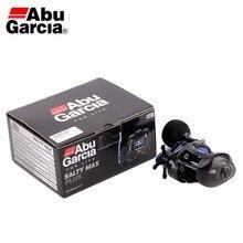Original Abu Garcia SALTY MAX PLUS Baitcasting Fishing Reel 6.2:1 225g 5.0kg 2+1BB Fresh&Saltwater C6 Carbom Fishing Reel