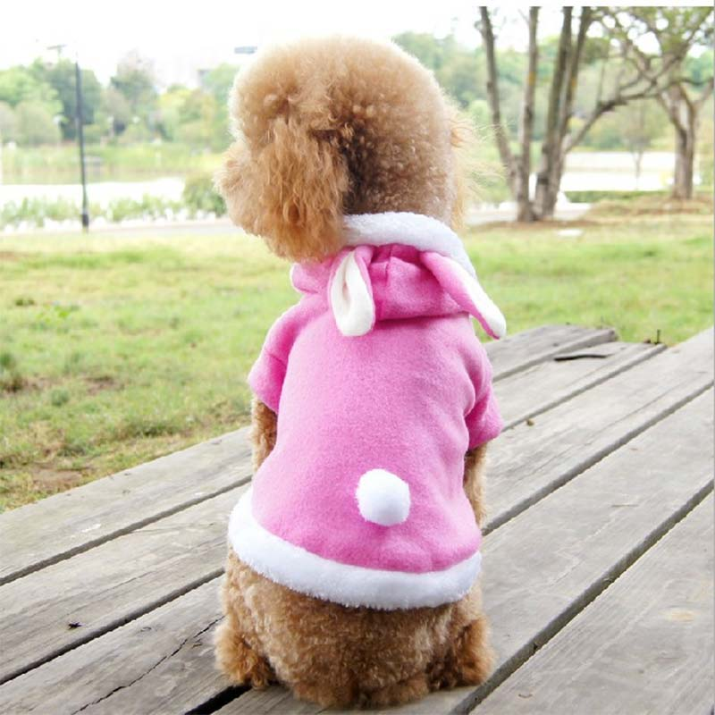 Cute Hot Pet Clothes Dog Cat Costume Puppy Rabbit Animals Suit Clothing Fleece Warm Dogs Coat Pet Supplies High Quality LXY9