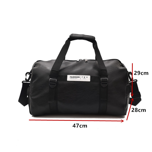 Outdoor Shoulder Sports Gym Bag Men Women with Shoes Storage Training  Fitness Travel Yoga HandBag sac 6ed03ba7a9