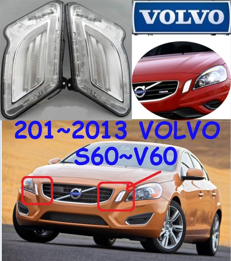 Автомобиль-стайлинг, ХС60 дневного света,2009~2013,СИД,Бесплатная доставка!2шт,автомобиль-детектор, ХС60 противотуманные фары,авто-чехлы,ХС 60