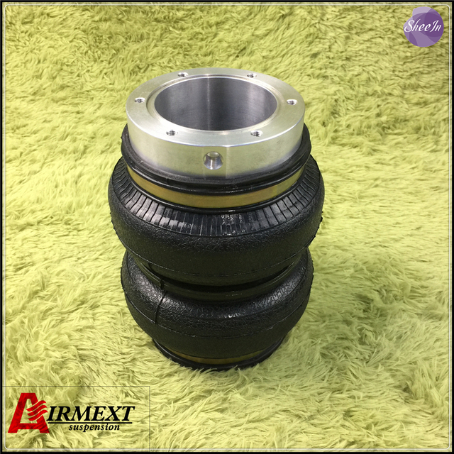 SN142156BL2-H/H AIRLIFT 5814 hollow Double convolute airspring airbag shock absorber/pneumatic air suspension air bellow