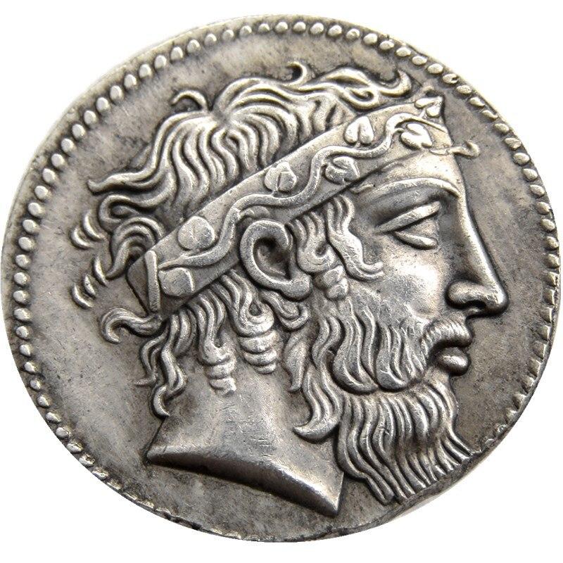 09 Kraftvoll G Seltene Alte Griechischen Münze-415 Tetradrachm Kopie Münzen Großhandel Warmes Lob Von Kunden Zu Gewinnen