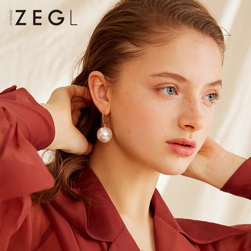 ZEGL925 silver banquet earrings for women temperament ladies New Year red ear jewelryZEGL925 silver banquet earrings for women temperament ladies New Year red ear jewelry