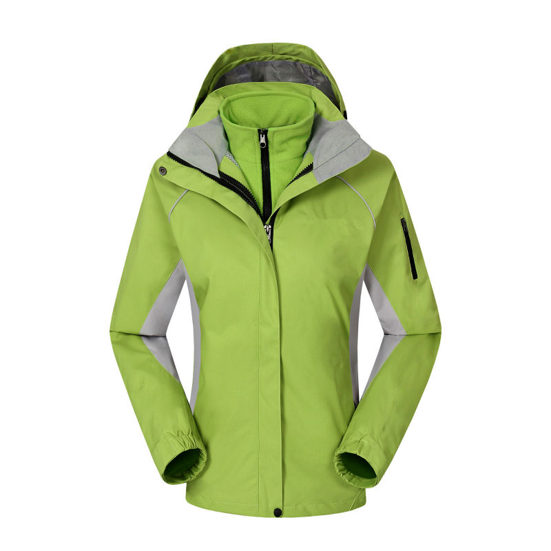 High Quality Womens Hooded Jackets Coats Mountain Waterproof Shell Fleece Insulated Snowboard Jackets 2-piece Set ...