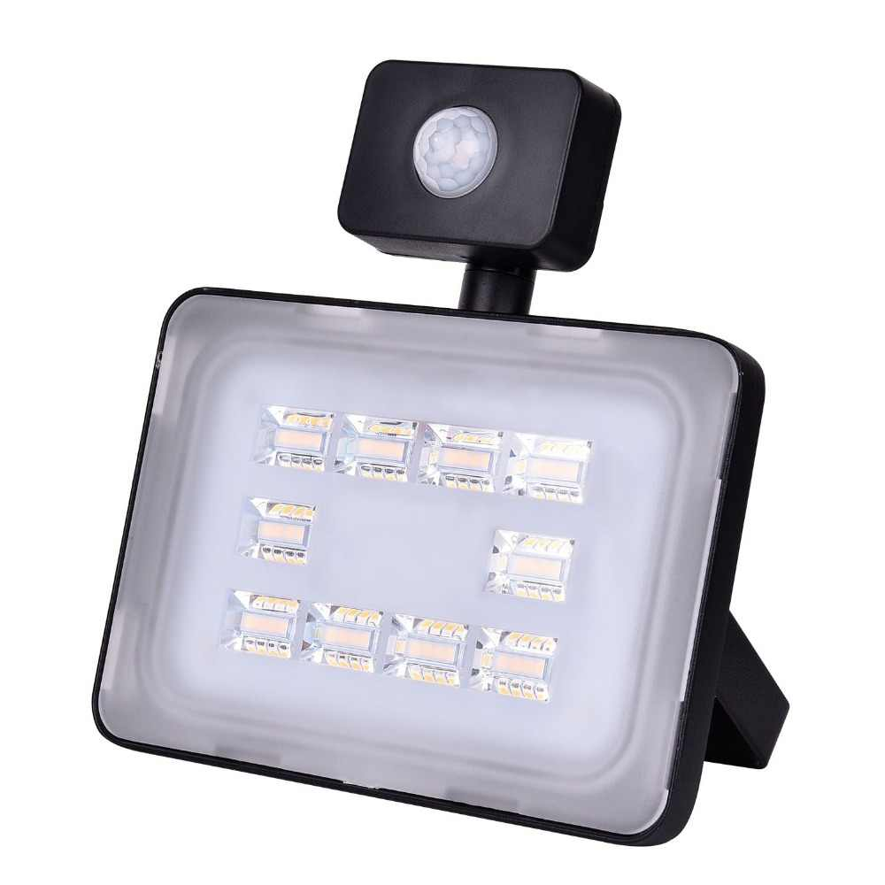 UPGRATE 30W PIR LED Flood Light IP65 220V-240V 3600LM PIR Motion Sensor Lamp Infrared Sensor FloodLight SMD2835 Outdoor Lighting
