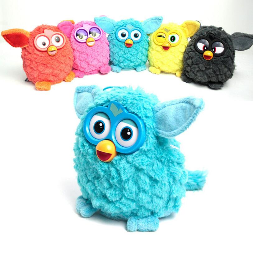 Electronic Interactive Toys Phoebe Doll Firbi Pets Fuby Owl Elves Plush Recording Talking Smart Toy Gifts Furbiness Plush Boom